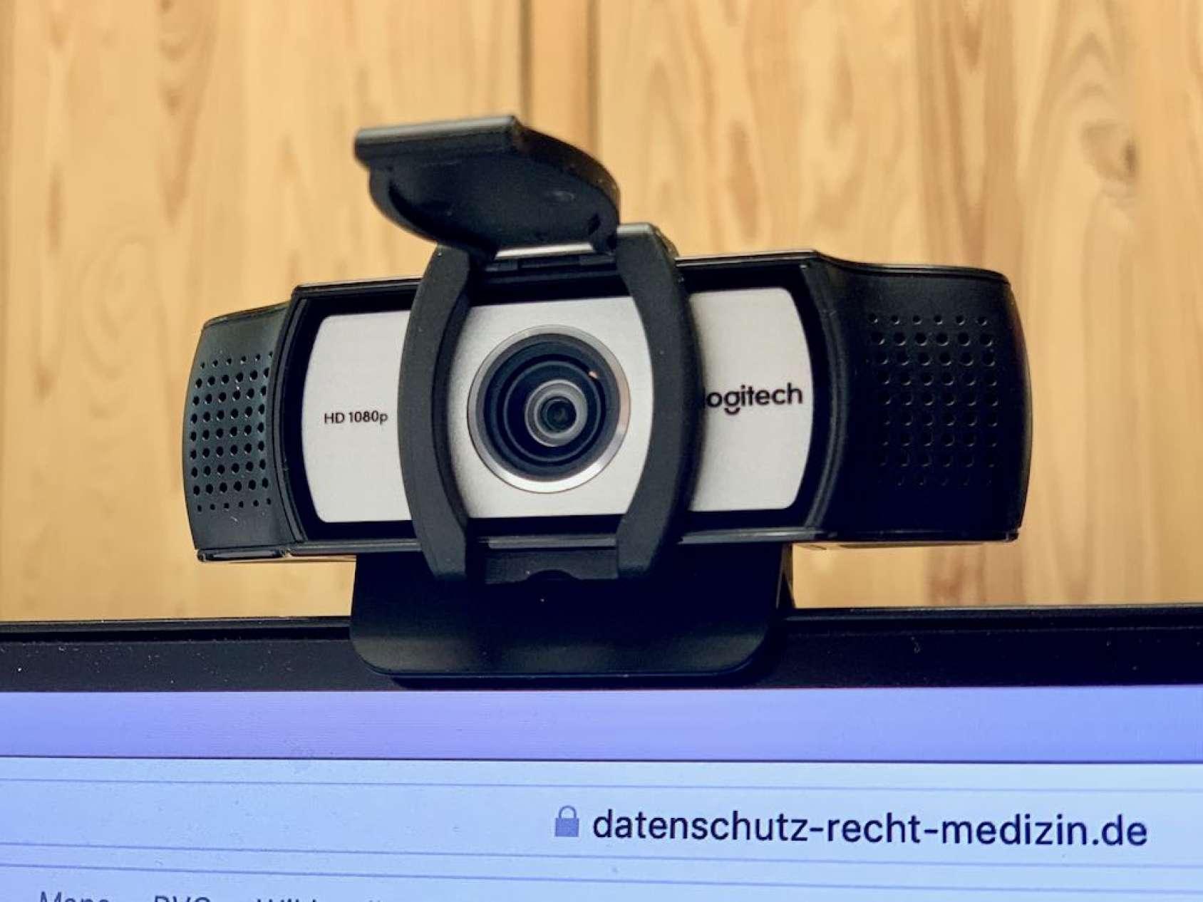 Homeoffice, Corona, Covid 19, Videokamera für Videokonferenz, Videosprechstunde, Datenschutz, DSGVO, Rechtsanwalt David Seiler, Cottbus